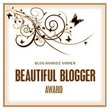 beautiful blogger badge